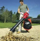Какие существуют пылесосы для уборки садов от листьев?